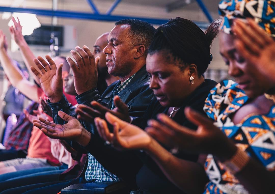 Worship at Kingdom Faith Church Miilton Keynes UK